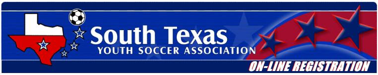 South Texas Youth Soccer Association banner